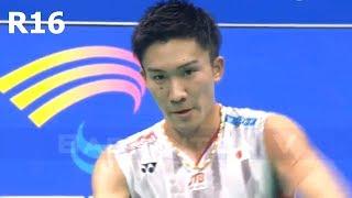 【動画】桃田賢斗 VS 石宇奇 バドミントンアジア選手権2018 ベスト16