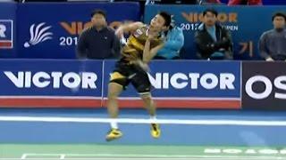 【動画】林丹 VS リー・チョンウェイ ビクター・韓国オープン2012