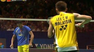 【動画】林丹 VS リー・チョンウェイ ヨネックス全英オープンバドミントン選手権2012 決勝