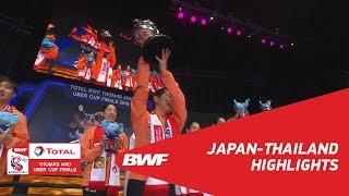 ユーバー杯2018日本代表選手の使用ラケット