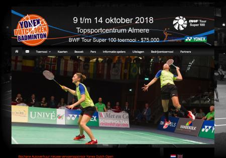 オランダオープン、志田千陽・松山奈未ペアは準々決勝敗退