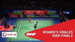 【動画】P.V.シンドゥ VS 山口茜 ヨネックス全英オープン2018 準決勝