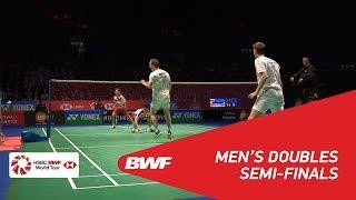【動画】マルクス・フェルナルディ・ギデオン・ケビン・サンジャヤ・スカムルジョ VS マッズ・コンラッド・ピーターセン・マッズ・ピーラー・コールディング ヨネックス全英オープン2018 準決勝