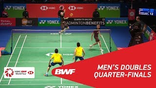 【動画】マシアス・ボー・カルステン・モゲンセン VS ゴー・V シェム・タン・ウィーキョン 全英オープン2018 準々決勝