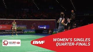 【動画】奥原希望 VS P.V.シンドゥ 全英オープン2018 準々決勝