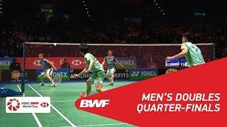 【動画】マルクス・フェルナルディ・ギデオン・ケビン・サンジャヤ・スカムルジョ VS 陳宏麟 全英オープン2018 準々決勝