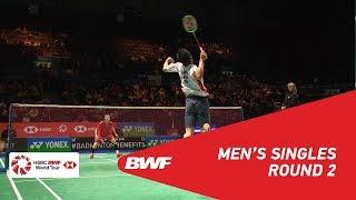 【動画】伍家朗 VS 西本拳太 全英オープン2018 ベスト16