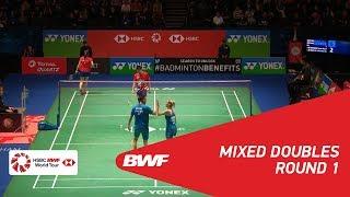 【動画】クリス・アドコック・ガブリエル・アドコック VS ゴー・スンファット・ライ・シェヴォン・ジェミー 全英オープン2018 ベスト32