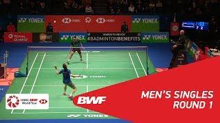 【動画】ブリス・レヴェルデ VS スリカンス・K 全英オープン2018 ベスト32