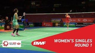 【動画】ラッチャノク・インタノン VS ミシェル・リー 全英オープン2018 ベスト32