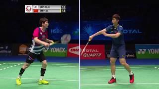 【動画】ソン・ワンホ VS 石宇奇 全英オープン2018 準決勝