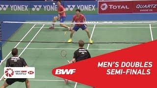 【動画】キム・アストルプ・アンダース・スカールプ・ラスムセン VS ハン・チェンカイ・ツォウ・ハオドン インドオープン2018 準決勝