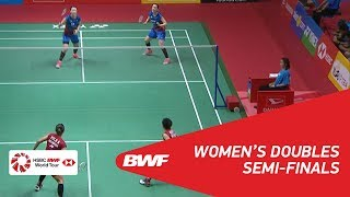 【動画】グレシア・ポリー・アプリヤニ・ラハユ VS 李紹希 インドネシアマスターズ2018 準決勝