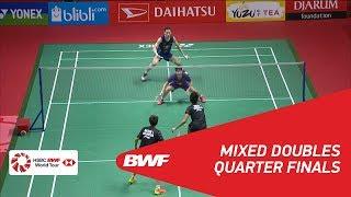 【動画】タトウィ・アーマド・リリヤナ・ナットシール VS 張楠・刘玄炫 インドネシアマスターズ2018 準々決勝