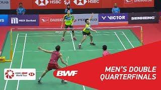【動画】ゴー・V シェム・タン・ウィーキョン VS 刘成 マレーシアマスターズ2018 準々決勝