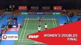 【動画】櫻本絢子・高畑祐紀子 VS パク・ハナ・イ・ユリム オーストラリアオープン2018 決勝