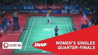 【動画】スン・ジヒュン VS ラッチャノク・インタノン インドネシアオープン2018 準々決勝