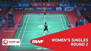 【動画】サイナ・ネワール VS 陳雨菲 インドネシアオープン2018 ベスト16