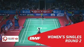 【動画】グレゴリア・マリスカ・トゥンジュン VS ラッチャノク・インタノン インドネシアオープン2018 ベスト16