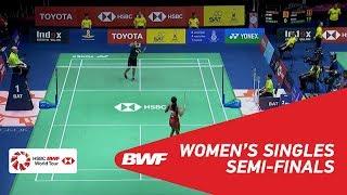 【動画】グレゴリア・マリスカ・トゥンジュン VS P.V.シンドゥ タイオープン2018 準決勝