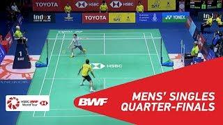 【動画】常山幹太 VS コシット・フェトラダブ タイオープン2018 準々決勝