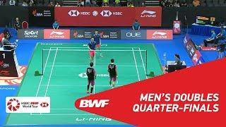 【動画】ハン・チェンカイ・ツォウ・ハオドン VS ポー・リーウェイ・ヤン・ミンツェ シンガポールオープン2018 準々決勝
