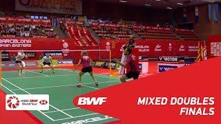 【動画】ニコラス・ノーア・サラ・ティゲセン VS マーカス・エリス・ローレン・スミス スペインマスターズ2018 決勝