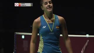 【動画】キャロリーナ・マリン VS 陳雨菲 ダイハツヨネックスジャパンオープン2018 準決勝