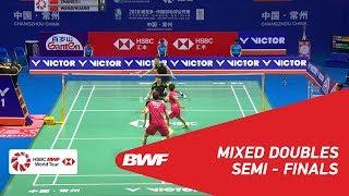 【動画】張楠 VS 王懿律 中国オープン2018 準決勝