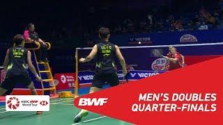 【動画】キム・アストルプ・アンダース・スカールプ・ラスムセン VS 李俊慧 中国オープン2018 準々決勝
