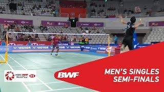 【動画】ジョナタン・クリスティー VS トミー・スギアルト 韓国オープン2018 準決勝