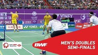 【動画】陳宏麟 VS ボディン・イサラ・マニーポン・ジョンジット チャイニーズタイペイオープン2018 準決勝
