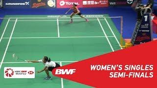 【動画】グレゴリア・マリスカ・トゥンジュン VS サイナ・ネワール デンマークオープン2018 準決勝