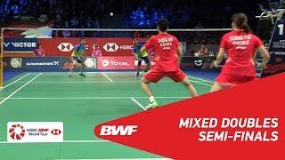 【動画】郑思维 VS タトウィ・アーマド・リリヤナ・ナットシール デンマークオープン2018 準決勝