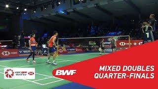 【動画】ソ・スンジェ・チェ・ユジュン VS チャン・ペンスン・ゴー・リューイン デンマークオープン2018 準々決勝