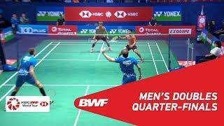 【動画】リー・ジェフェイ・リー・ヤン VS ウラジミール・イワノフ・イワン・ソゾノフ フランスオープン2018 準々決勝
