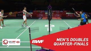 【動画】刘成 VS リャオ・ミンチュン・蘇敬恒 福州中国オープン2018 準々決勝