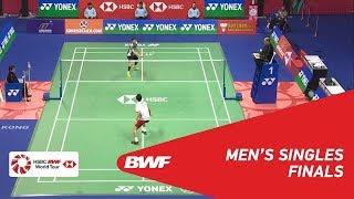 【動画】ソン・ワンホ VS 西本拳太 香港オープン2018 決勝