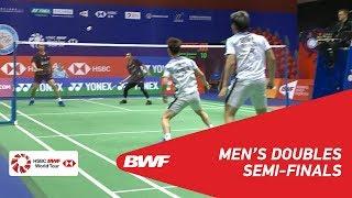【動画】マルクス・フェルナルディ・ギデオン・ケビン・サンジャヤ・スカムルジョ VS モハマド・アッサン・ヘンドラ・セティアワン 香港オープン2018 準決勝