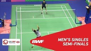 【動画】西本拳太 VS リー・チェアック・イウ 香港オープン2018 準決勝