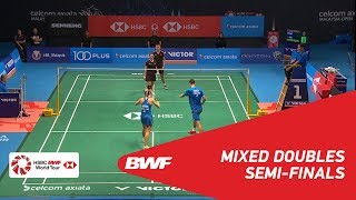 【動画】郑思维 VS クリス・アドコック・ガブリエル・アドコック マレーシアオープン2018 準決勝