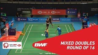 【動画】クリス・アドコック・ガブリエル・アドコック VS 張楠 マレーシアオープン2018 ベスト16