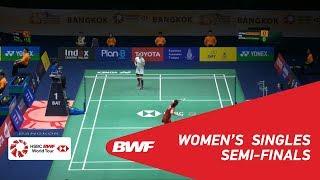 【動画】ブサナン・オングブンルングパン VS ポルンパウィ・チョチュウォン タイマスターズ2019 準決勝