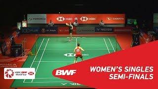 【動画】キャロリーナ・マリン VS サイナ・ネワール マレーシアマスターズ2019 準決勝