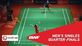 【動画】リー・ジージア VS ビクター・アクセルセン マレーシアマスターズ2019 準々決勝