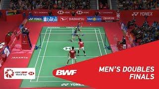 【動画】マルクス・フェルナルディ・ギデオン・ケビン・サンジャヤ・スカムルジョ VS モハマド・アッサン・ヘンドラ・セティアワン インドネシアマスターズ2019 決勝