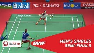【動画】桃田賢斗 VS ビクター・アクセルセン インドネシアマスターズ2019 準決勝