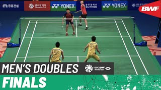 【動画】リー・ヤン・王齊麟 VS ゴー・V シェム・タン・ウィーキョン 韓国マスターズ2019 決勝