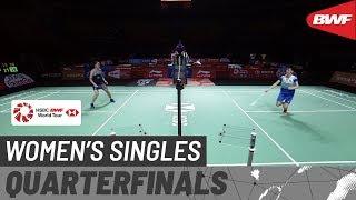 【動画】ラッチャノク・インタノン VS 陳雨菲 福州中国オープン2019 準々決勝