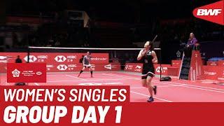 【動画】ラッチャノク・インタノン VS ブサナン・オングブンルングパン BWFワールドツアーファイナルズ2019 女子シングルスグループB